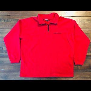 Vintage Tommy Hilfiger fleece red size 2x